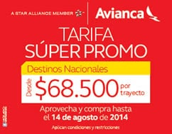 super promo avianca