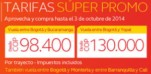 super promo de avianca