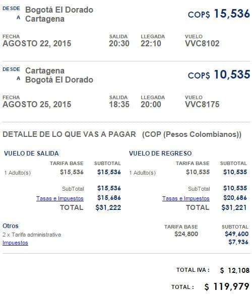 cartagena vivacolombia tiquetes