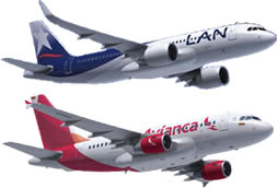 avianca y latam colombia