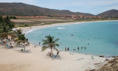 isla margarita on vacation