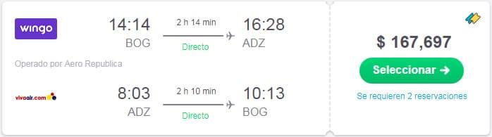 vuelos baratos san andres colombia