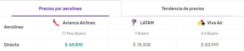 vuelos despegar colombia