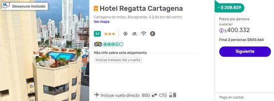 despegar colombia cartagena hotel regatta