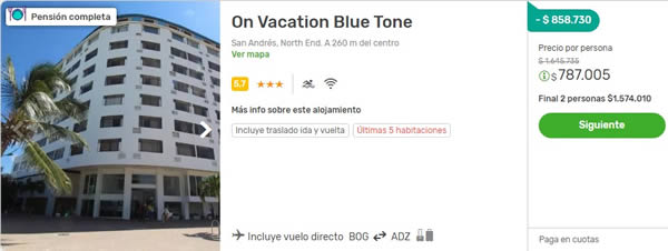on vacation blue tone viajes falabella