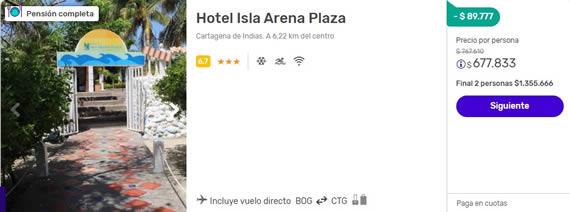 hotel isla arena plaza despegar 2x1