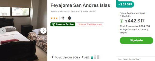 feyajoma san andres islas